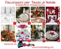 Kreattivablog: 16 idee per decorare la tavola di Natale