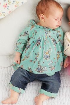 Buy Green Ditsy Blouse (0-18mths) from the Next UK online shop