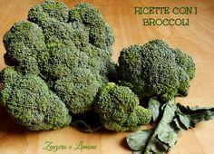 Una raccolta di ricette con i broccoli. Poiché questi ortaggi fanno benissimo, cerchiamo di inserirli più spesso nella nostra alimentazione.