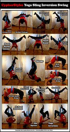 Yoga Sling Inversion Swing Yoga Rope, Anti Gravity Yoga, Air Yoga, Aerial Yoga Hammock, Yoga Thoughts, Yoga Lessons, Yoga Dance, Yoga Routine, Yoga Meditation