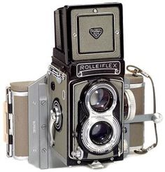 Rolleiflex T Mit Philips Polaroid Back, 1958