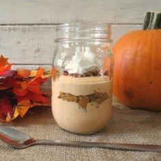 Pumpkin Pie Breakfast Jar Parfait