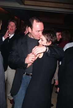 Kevin Spacey and Winona Ryder, 1994
