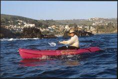Kayaking in Laguna Beach, CA