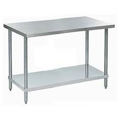 Aero Manufacturing A3060 60 W X 30 D 18 Gauge Stainless Steel Workbench