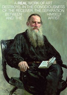 Leo Tolstoy on Emotional Infectiousness and What Separates Good Art from Bad | Brain Pickings