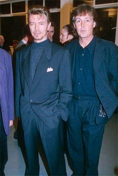 David Bowie & Paul McCartney
