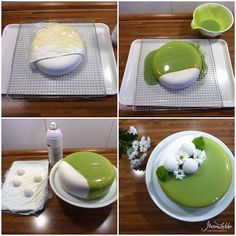 Cake Decorating Techniques, Cake Decorating Tips, Sweet Recipes, Cake Recipes, Dessert Recipes, Desserts With Biscuits, Dessert Decoration, Mousse Cake, Holiday Cakes