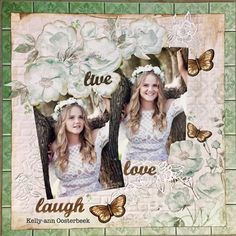 Scrapbooking layout by Kelly-ann Oosterbeek, created using the Memory Lane collection from Kaisercraft. Birthday Scrapbook, Wedding Scrapbook, Birthday Cards, Birthday Parties, Scrapbooking Layouts, Scrapbook Pages, Arts And Crafts, Wedding Inspiration, Memories