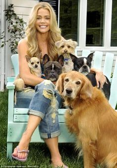 Denise Richards---- this will be me and all my dogs! :)