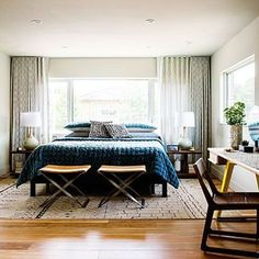 Chicandtrendymidcenturymodernbedroomdesigns31  Digsdigs Custom Mid Century Modern Bedroom Decorating Inspiration