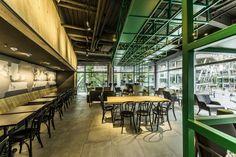 Starbucks store at Sony Center – Potsdammer Platz, Berlin » Retail Design Blog