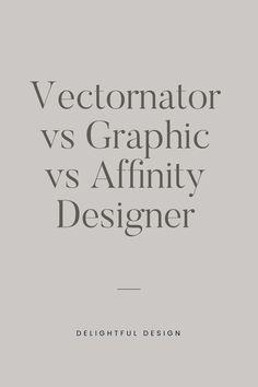 Vectornator vs Graphic vs Affinity Designer: Battle Of The Vector Apps – Delightful Design Branding Template, Branding Design, Logo Design, Design Design, Minimal Web Design, Graphic Design Art, Graphic Design Inspiration, Personal Website Design, Best Ui Design