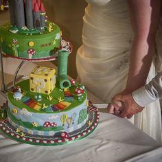 Our Mario Kart wedding cake   Nintendo