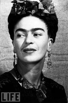 Gotta love Frida...unibrow and all!