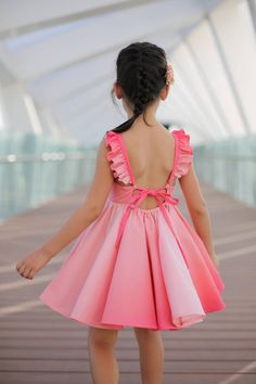 All the candies in the world couldn't beat the sweet Sonora dress & skirt! Girls Dresses Sewing, Frocks For Girls, Little Girl Outfits, Kids Outfits Girls, Little Girl Dresses, Sewing Clothes, Kids Dress Wear, Kids Gown, Baby Dress Design
