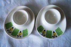 Figgjo Grønn Valencia eggeglass. Egg cup