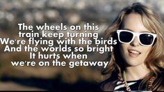 Bridgit Mendler - Love Will Tell Us Where To Go (Lyrics On Screen), via YouTube.