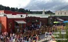 Salt Lamps Blue Ridge Ga : 1000+ images about Historic Downtown Ellijay on Pinterest The Square, Georgia and Pottery