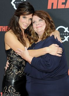 """Cannot stop laughing about the movie """"The Heat""""  Melissa McCarthy and Sandra Bullock"""