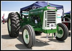 Oliver 550 Tractor by Dusty_73, via Flickr