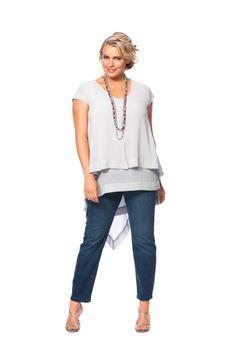 LOVE this outfit!!! French Swing Tunic £59-00 http://www.takingshape.com/uk/tops/french-swing-tunic.html?