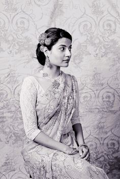 A vintage Indian bride ---- #beautiful #indian #bride