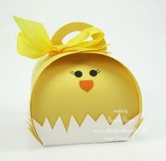 Chick Curvy Keepsake Box, Stampin' Up! www.stampwithannette.com