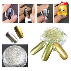 Feature: 100% brand new and high quality Material: Powder Quantity:2 boxes Color: #Gold+Silver Weight: Approx.1g/box Nail decoration Easy to apply on natural or ...