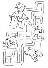 None Activities For 6 Year Olds, Printable Activities For Kids, Preschool Worksheets, Book Activities, Art Drawings For Kids, Drawing For Kids, Mazes For Kids, Preschool Education, Vocabulary Activities