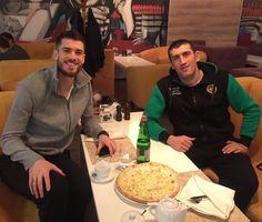 Matt Anderson with a friend (@gadzhiev_magomed_official) su Instagram