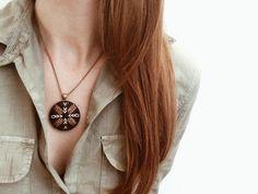 Wanderlust Necklace in Blush | Zelma Rose