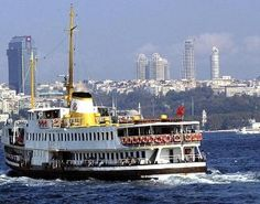 Ferries to multiple locations across the Bosphorus
