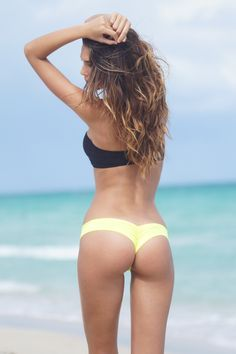 Sexy Puckered Back Bikini - Puckered Back - Scrunch Back - Scrunch Butt - TBSW - Bikini Bottom - Todd Barrett Swimwear - Miami Beach - Fashion TV - 2014 - Sexy - Mini Micro Bikini - www.toddbarrettswimwear.com