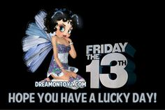 Friday the 13 th Betty Boop