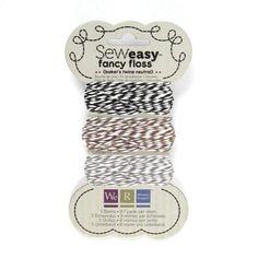 SewEasy Fancy floss - Baker's twine Neutral