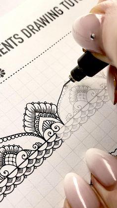 Book Design Graphique, Illustration Design Graphique, Mandala Art Lesson, Mandala Artwork, Doodle Art Drawing, Mandala Drawing, Art Drawings Sketches Simple, Pencil Art Drawings, Design Poster