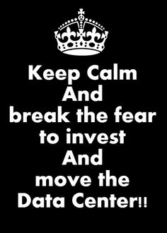 """Post on """"How To Break The Fear To Invest And Move The Data Center"""". See more at: http://www.esds.co.in/blog/how-to-break-the-fear-to-invest-and-move-the-data-center/"""