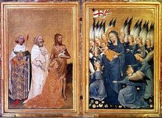 Wilton Diptych - National Gallery