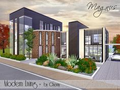 Magnus Modern Living by Chemy  http://www.thesimsresource.com/downloads/1176056