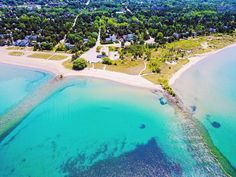 This Ontario Beach With Caribbean Blue Waters Is The Ultimate Summer Destination featured image Southampton Ontario, Southampton Beach, Destin Beach, Beach Trip, Beach Road, Hawaii Beach, Oahu Hawaii, Beach Travel, Summer Travel