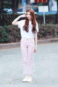 Kpop Fashion, Asian Fashion, Daily Fashion, Girl Fashion, Casual Wear, Casual Outfits, Girl Outfits, Cute Outfits, Korean Girl
