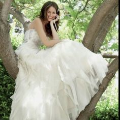 Bride in a tree, why not.