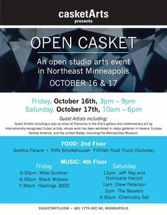 Great collection of artists & a bldg with a great vibe.  Don't miss it - Northeast Mpls Arts Quarter!