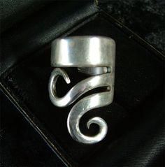 forkometry: haute repurposed silverware jewelry « HAUTE NATURE