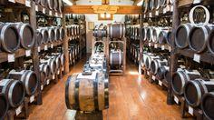 The making of Traditional Balsamic Vinegar of Modena (Aceto Balsamico Tradizionale di Modena).Premium Vinegar. The original balsamic vinegars are made in Modena, Italy.