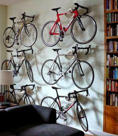 Tárolási ötletek: a bicikli