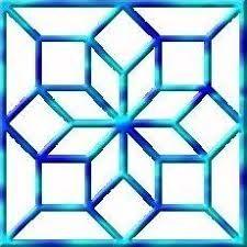 نتيجة بحث الصور عن زخرفة هندسية سهلة Islamic Design Islamic Art Op Art