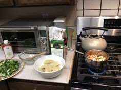 Dinner makings on the farm....didn't come out that great becuase that broth was.....lets just say ...flavorless...Folsom, California farm