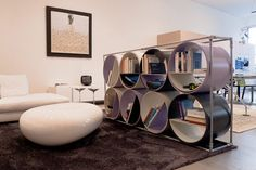 Creative eco-shelving by Italian designers